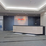 関東いすゞ自動車株式会社本社エントランスホール