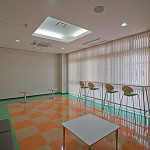 関東いすゞ自動車株式会社高崎支店お客様待合室